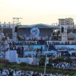 Imágenes de la Ceremonia de Bienvenida del papa Francisco