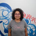 Mara Ethelgive voluntaria de la JMJ Panamá proveniente de Nicaragua