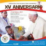 Casa Hogar El Buen Samaritano  Celebra su XV Aniversario con Feria Familiar