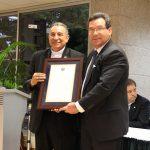 Arzobispo Ulloa recibe homenaje con humildad