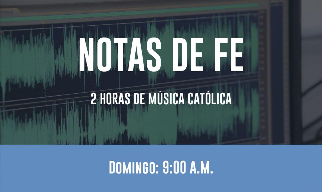 NOTAS DE FE